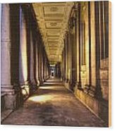 Greenwich Royal Naval College  Wood Print