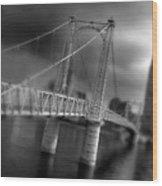 Greig Street Bridge Wood Print