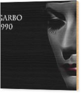 Greta Garbo 1905 1990 Wood Print