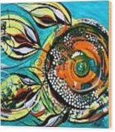 Gretchen Fish A Citrus Twist Wood Print