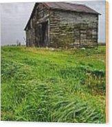 Grey County Barn Wood Print