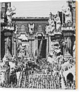 Griffith: Intolerance 1916 Wood Print by Granger