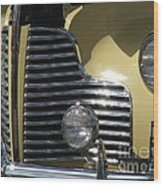 Grille Wood Print