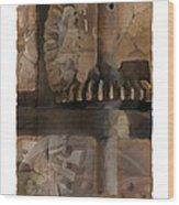 Grinder Wood Print by Bob Salo