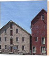 Gristmill At Prallsville Mills Wood Print