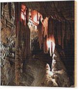 Grotte Magdaleine South France Region Ardeche Wood Print