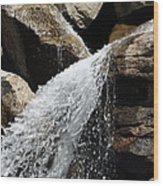 Grotto's Cascade Wood Print