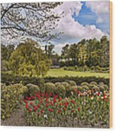 Grounds At Leeds Castle  Wood Print