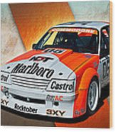 Group C Vk Commodore Wood Print