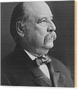 Grover Cleveland - President Of The United States Wood Print by International  Images