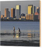 Growing Up Tampa Bay Wood Print