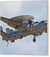 Grumman E-2 Hawkeye Wood Print