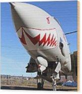 Grumman F-14a Tomcat Fighter Jet Plane . 7d11213 Wood Print