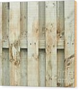 Grungy Old Fence Background Wood Print