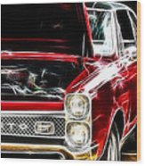 Gto 3 Wood Print