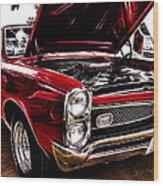 GTO Wood Print