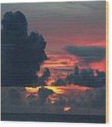 Guamanian Sunset 1 Wood Print