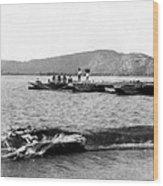 Guanica Harbor - San Juan - Puerto Rico - C 1899 Wood Print