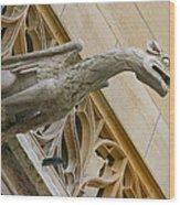 Guardian Dragon Wood Print