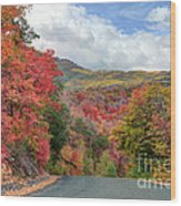 Guardsman Pass To Midway In The Fall - Utah Wood Print