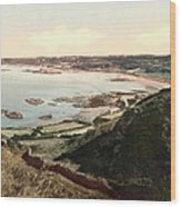 Guernsey - Rocquaine Bay - Channel Islands - England Wood Print
