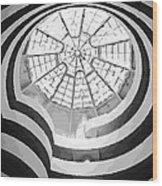 Guggenheim Museum Bw16 Wood Print