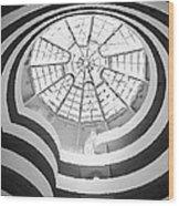 Guggenheim Museum Bw200 Wood Print by Scott Kelley