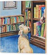 Guide Dog Training Wood Print