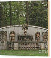 Guildwood Park Statute Wood Print