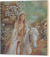 Guinevere Wood Print