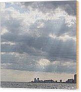 Gulf Of Mexico - Gulf Sunshine Wood Print