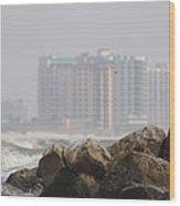 Gulf Of Mexico - Ocean Inward Wood Print