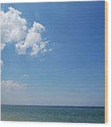 Gulf Sky Wood Print