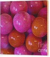 Gum Balls Wood Print