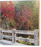 Gunner Bridge Wood Print
