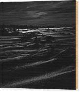 Gust Of Black Wood Print
