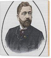 Gustave Eiffel, French Architect Wood Print