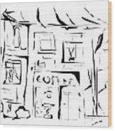 House 092 - Marucii Wood Print