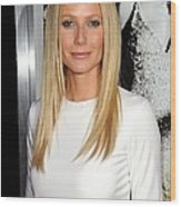 Gwyneth Paltrow At Arrivals For Country Wood Print by Everett