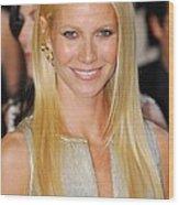 Gwyneth Paltrow Wearing Louis Vuitton Wood Print