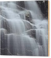 Hadlock Falls II Wood Print