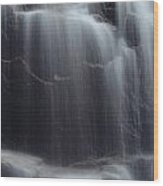 Hadlock Falls Wood Print