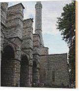 Hagia Sophia Entrance  Wood Print