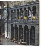 Hagia Sophia Interiour I Wood Print