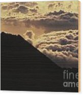 Haleakala First Light Wood Print