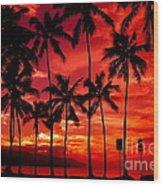 Haleiwa Wood Print