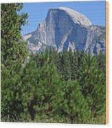 Half Dome Wood Print