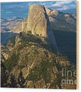 Half Dome From Washburn Point Wood Print