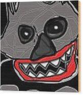 Halloween 3- Boo Wood Print