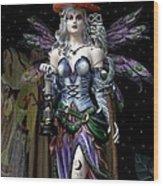 Halloween Fantasy Wood Print